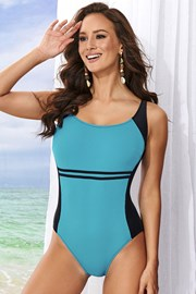 Costum de baie intreg Clara Blue