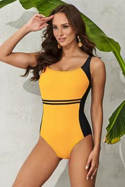 Costum de baie intreg Clara Yellow