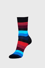 Sosete Happy Socks Stripe, negru