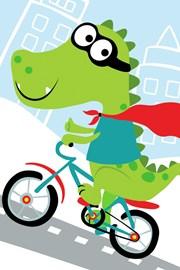 Prosop pentru copii Crocodil