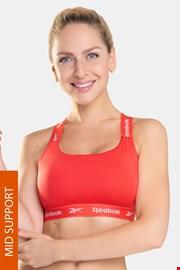 Sutien sport Reebok Dollie roșu