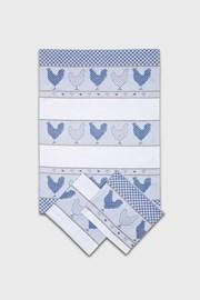 Set prosoape de bucatarie Slepičky, albastru