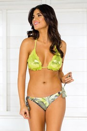 Sutien costum de baie Vacanze Green Forest