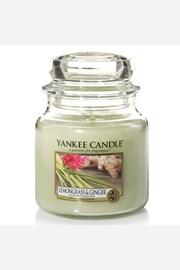 Yankee Candle lumanare Lemongrass Ginger, medie