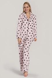 Pijama dama DKNY Festive Beast, roz