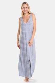 Cămașă de noapte damă DKNY Grey Stripe