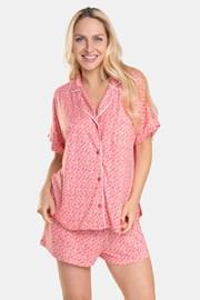 Pijama de damă DKNY Pink Logo