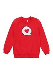 Bluza fetite Love, material subtire