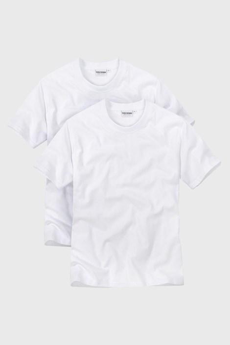 2pack tricou barbatesc White