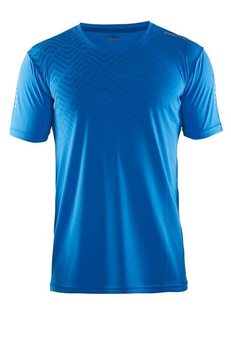 Tricou barbatesc Craft Mind SS albastru, material functional