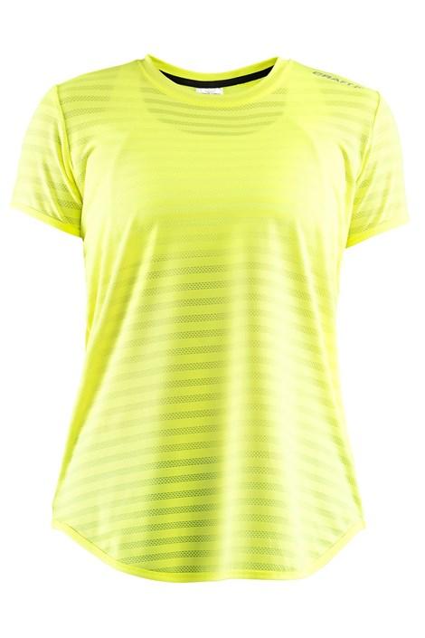 Tricou CRAFT Run Breakaway Two, galben-neon