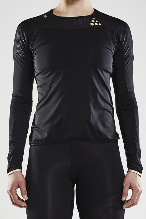 Bluza CRAFT Run Shade LS negru