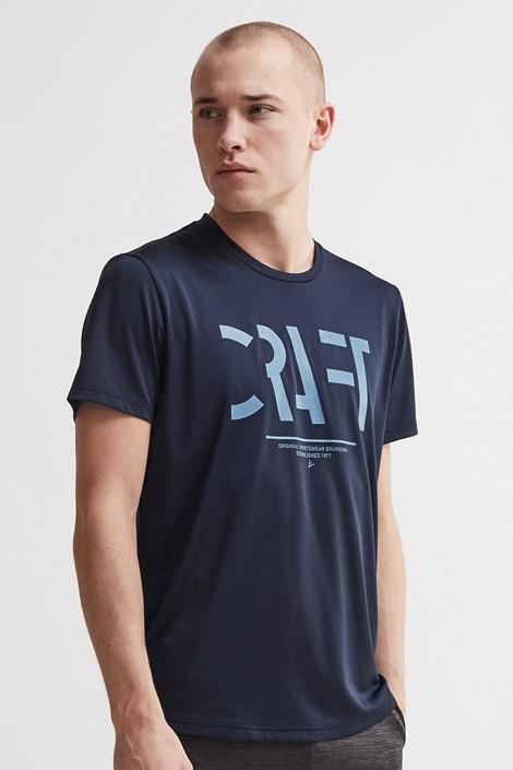 Tricou barbatesc CRAFT Eaze Mesh, albastru-inchis