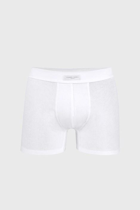 Boxeri bărbătești Cottone Nature, albi