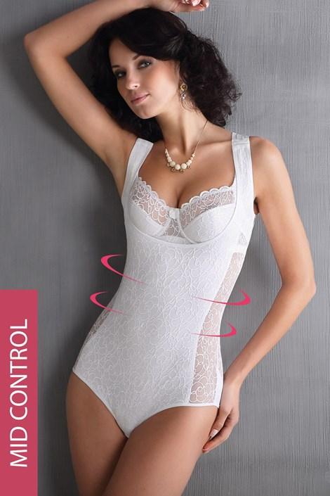 Body dantelat Leona, efect modelator