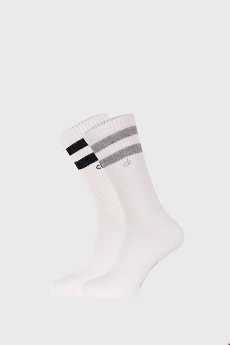 2 PACK șosete Calvin Klein Maurice, alb