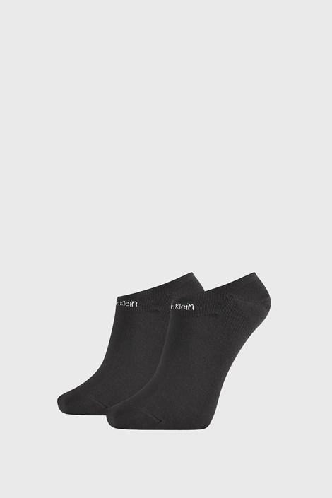 2 PACK șosete damă Calvin Klein Leanne, negru