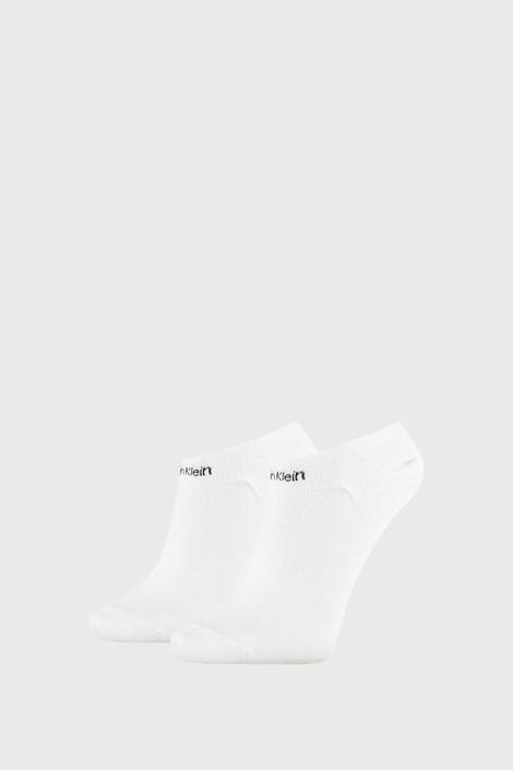 2 PACK șosete damă Calvin Klein Leanne, alb