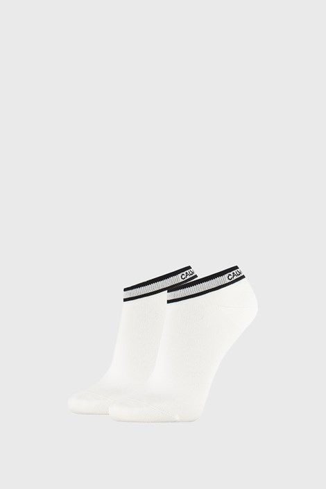2 PACK șosete damă Calvin Klein Spencer, alb