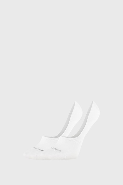 2 PACK șosete damă Calvin Klein Jessica, alb