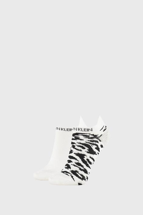 2 PACK șosete damă Calvin Klein Libby, alb