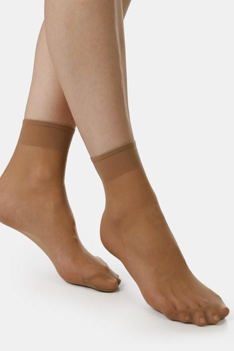 2 PACK șosete ciorap EVONA Silver 20 DEN