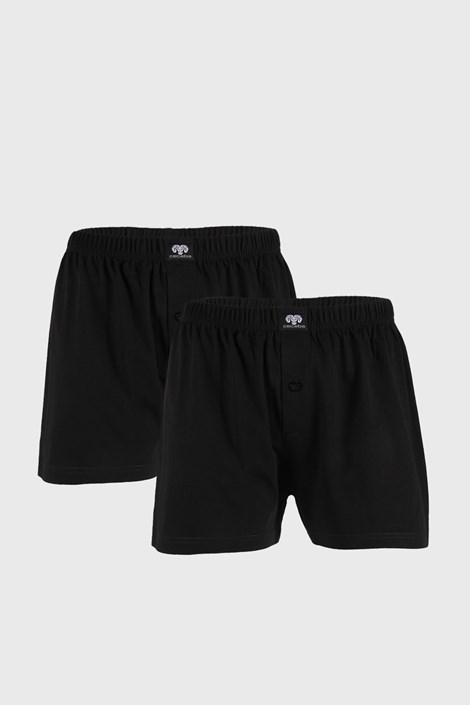 2 PACK pantaloni scurți Zeke negri