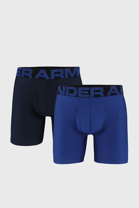 2 PACK boxeri Under Armour Tech, albastru