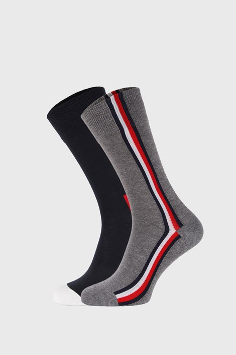 2 PACK sosete lungi Tommy Hilfiger Iconic Hidden