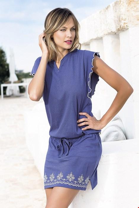 Dámské letní šaty Santorini modré