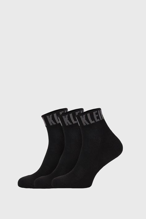 3 PACK șosete Calvin Klein Drake, negru