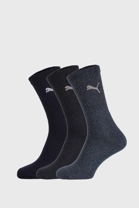 3 PACK sosete Puma Sport, albastru inchis