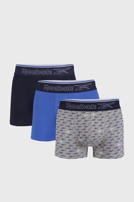 3 PACK boxeri Reebok Corey, albastru