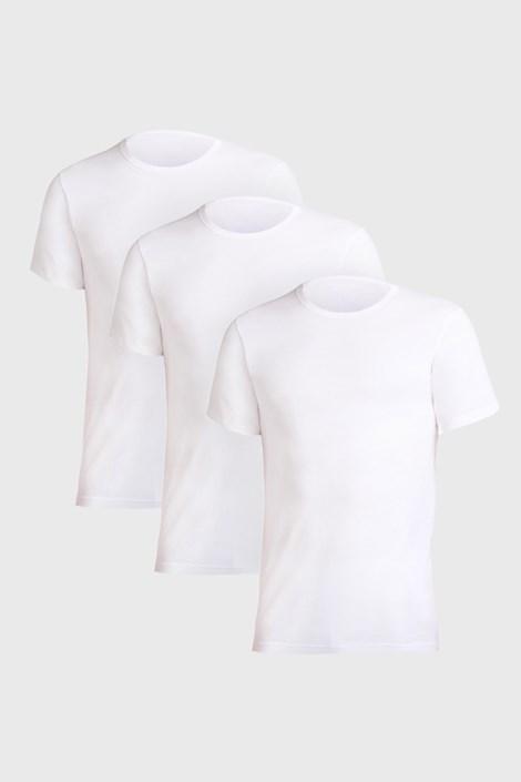 3 PACK tricouri barbatesti Uomo Comfort, alb