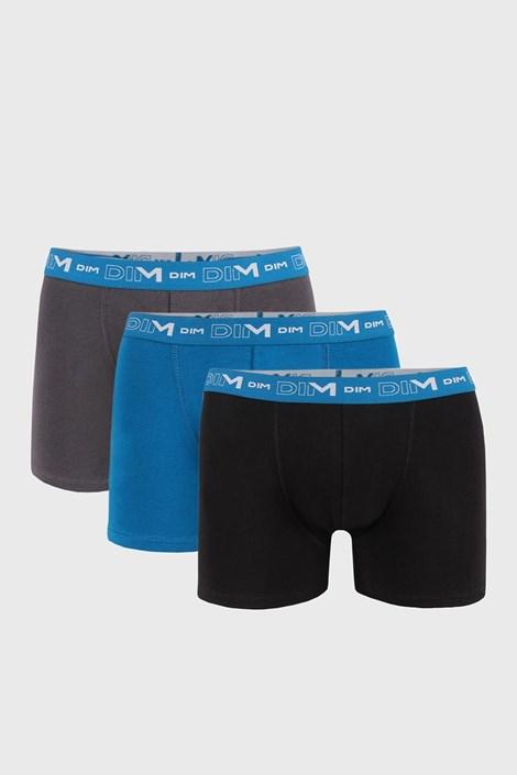 3 PACK boxeri bărbătești DIM Cotton Stretch