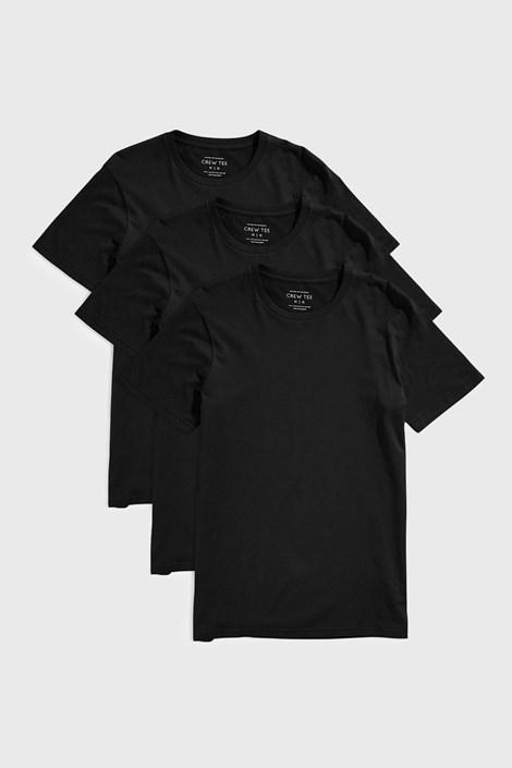 3 PACK tricou Austin negru