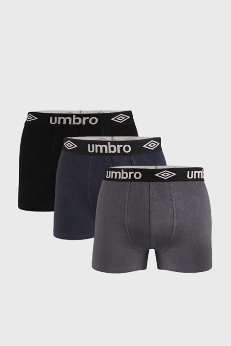 3 PACK boxeri Umbro Organic cotton