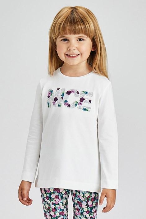 Bluză fetițe Mayoral Nice cu mânecă lungă