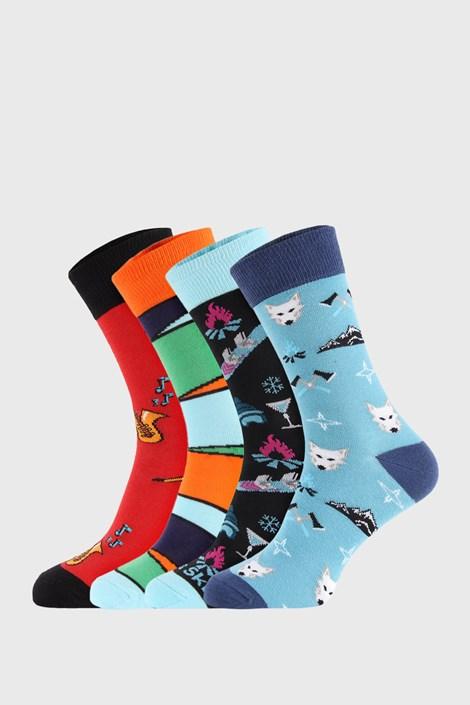 4 PACK sosete Bellinda Crazy Socks Winter