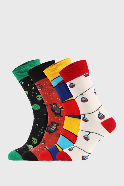 4 PACK sosete Bellinda Crazy Socks Alien