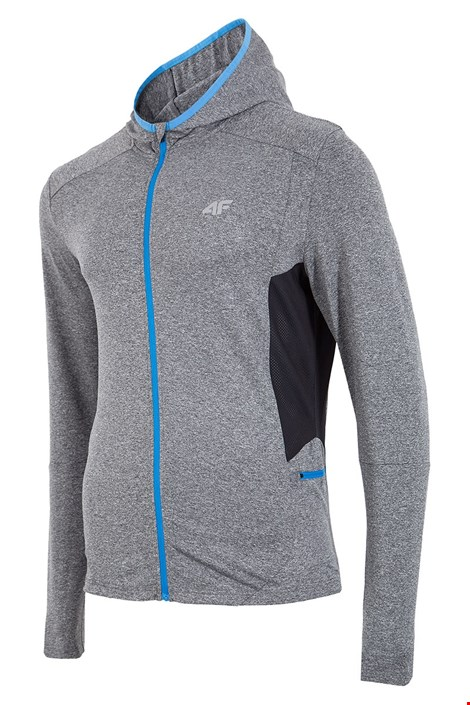 Hanorac sport barbatesc 4f Dry Control Grey
