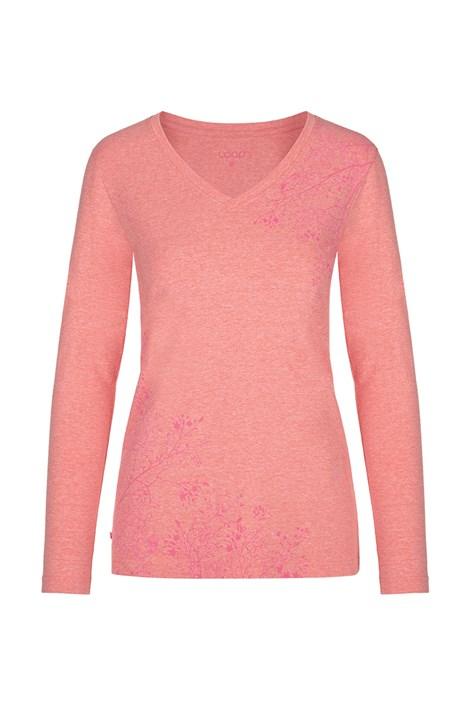 Bluza pentru femei LOAP Addie, portocaliu