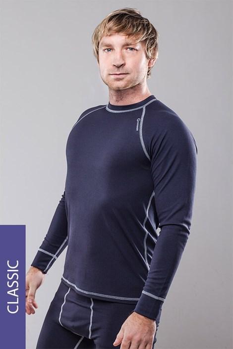 Bluza termica barbateasca Classic - gri