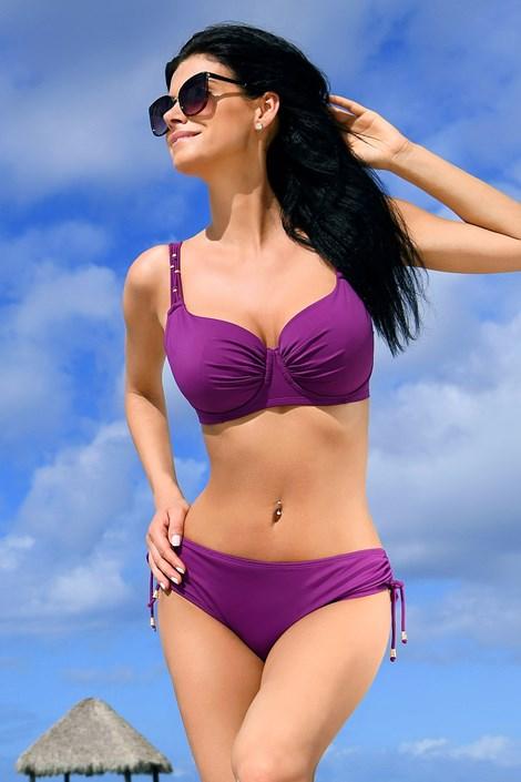 Costum de baie doua piese Jimbaran purple