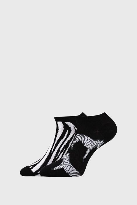2 PACK șosete damă Zebra