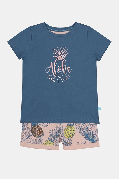 Pijama fetiţe Aloha Pineapple
