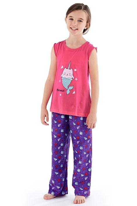 Pijama fete Mermaid