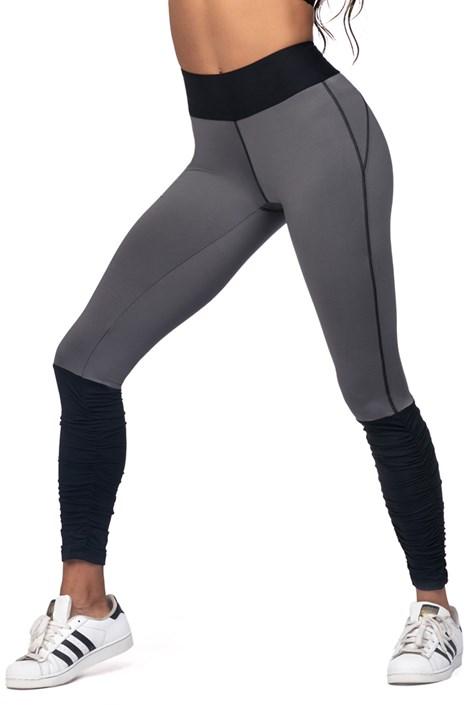 Colant sport pentru femei, gri-negru