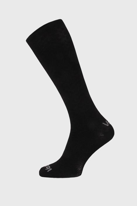 Sosete de compresie Lithe, pana sub genunchi, negru
