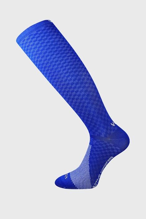 Șosete trei sferturi cu efect de compresie Lithe, albastre